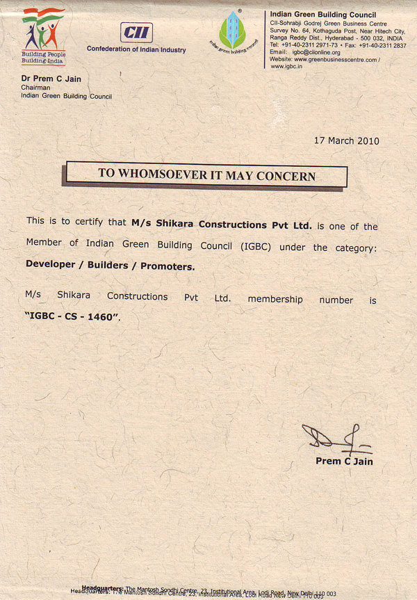 Shikara Constructions Pvt Ltd